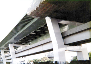 阪神高速湾岸線 南港  塗装塗替工事