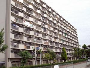 尼崎市営昆陽の台住宅西棟 外壁等改修工事