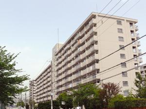 県営西宮真砂高層住宅(3号棟) 景観改善工事